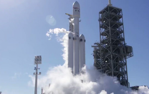 Historic Falcon Heavy Test Flight