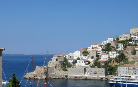 (The Island of Hydra, where donkeys and horses do the work of cars.)